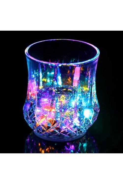 لیوان جادویی چراغ دار