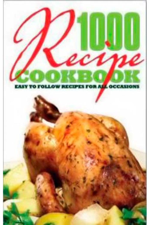 کتاب الکترونیکی 1000 Recipe CookBook Easy Follow Recipes