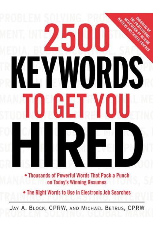 کتاب الکترونیکی 2500Keywords To Get You Hired