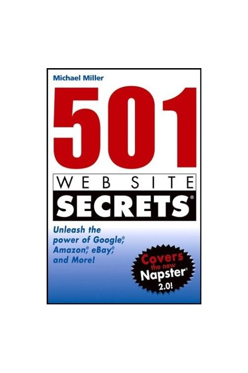 کتاب الکترونیکی 501Web Site Secrets Unleash The Power Of Google