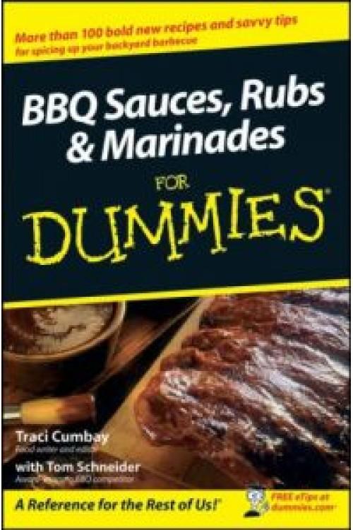 کتاب الکترونیکی BBQ Sauces, Rubs & Marinades For Dummies