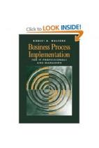 کتاب الکترونیکی Business Process Implementation For IT Professionals