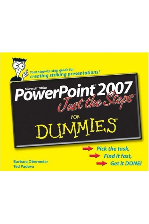 کتاب الکترونیکی For Dummies PowerPoint 2007 Just The Steps For Dummies