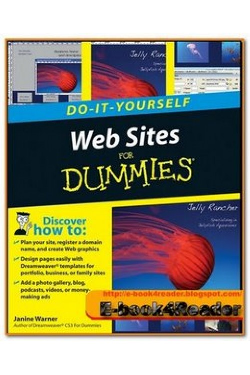 کتاب الکترونیکی For Dummies WebSites Do It Yourself For Dummies Feb 2008