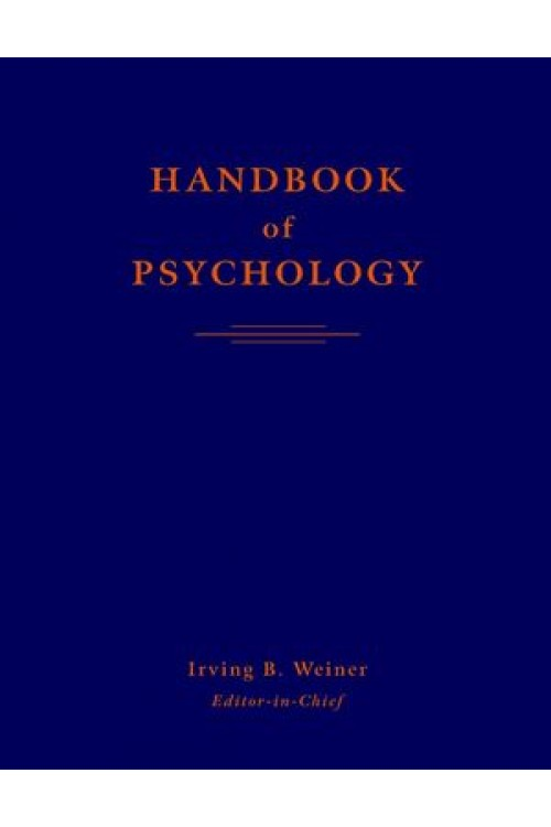 کتاب الکترونیکی Handbook Of Psychology Volume 1 - 12
