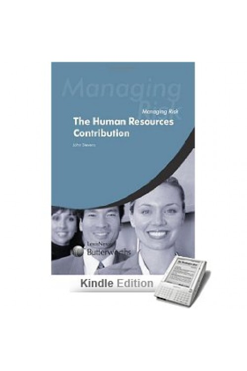 کتاب الکترونیکی Managing Risk The HR Contribution