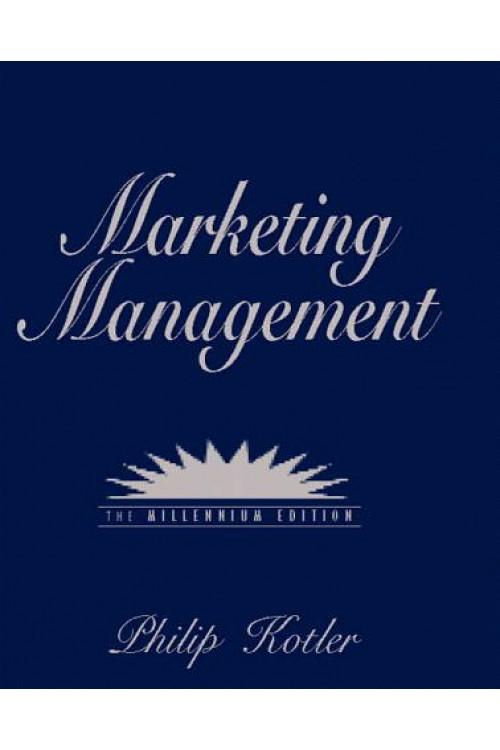 کتاب الکترونیکی Marketing Management: Millennium Edition