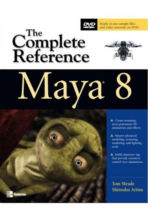 کتاب الکترونیکی Maya 8 - The Complete Reference