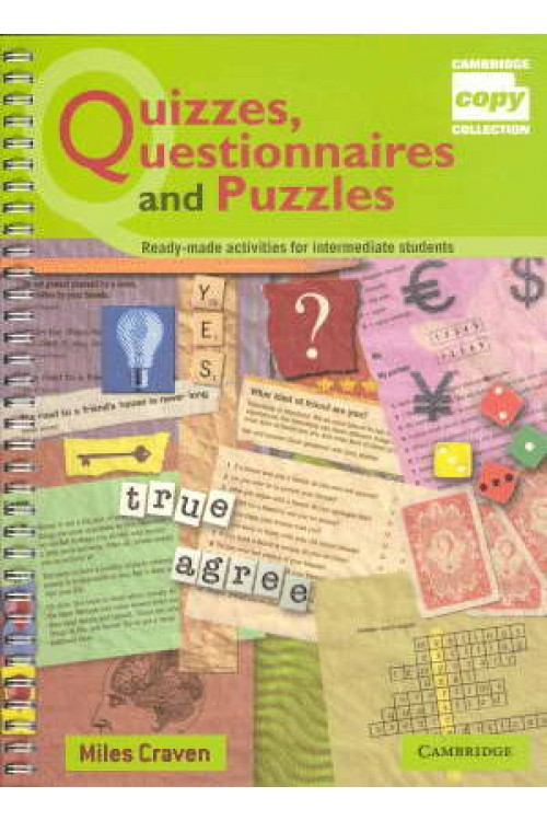 کتاب الکترونیکی Quizzes, Questionnaires And Puzzles