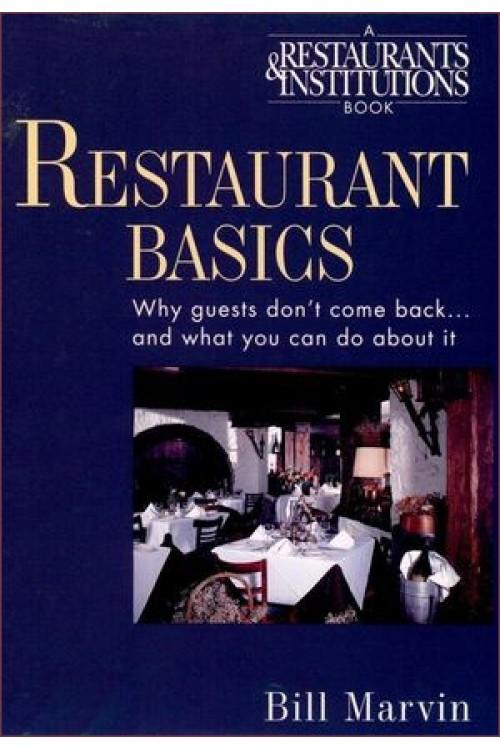 کتاب الکترونیکی Restaurant Basics