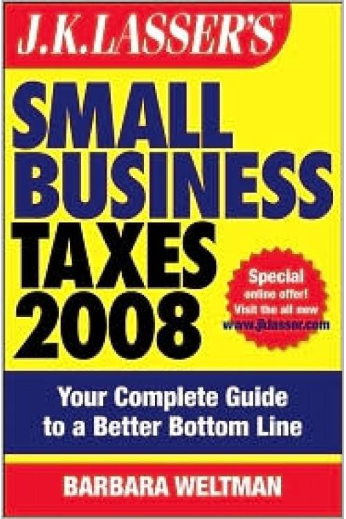 کتاب الکترونیکی Small Business Taxes 2008: Your Complete Guide To A Better Bottom Line