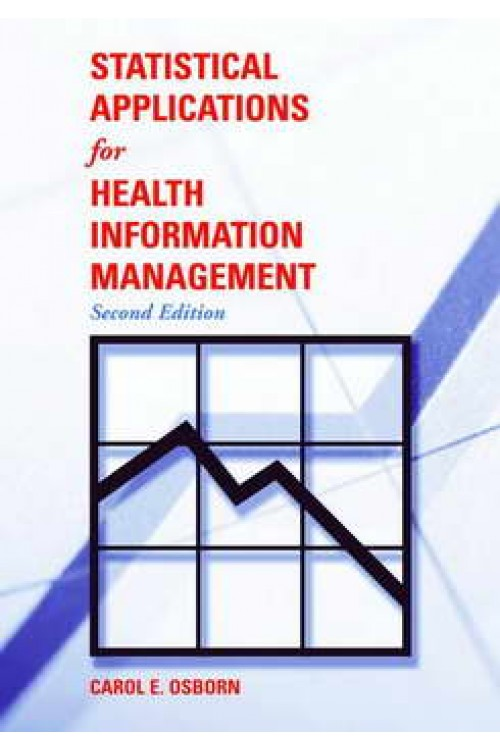 کتاب الکترونیکی Statistical Applications For Health Information Management