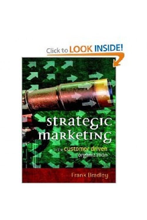 کتاب الکترونیکی Strategic Marketing: In The Customer Driven Organization