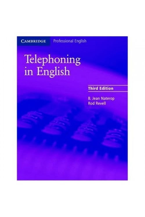 کتاب صوتی Telephoning In English