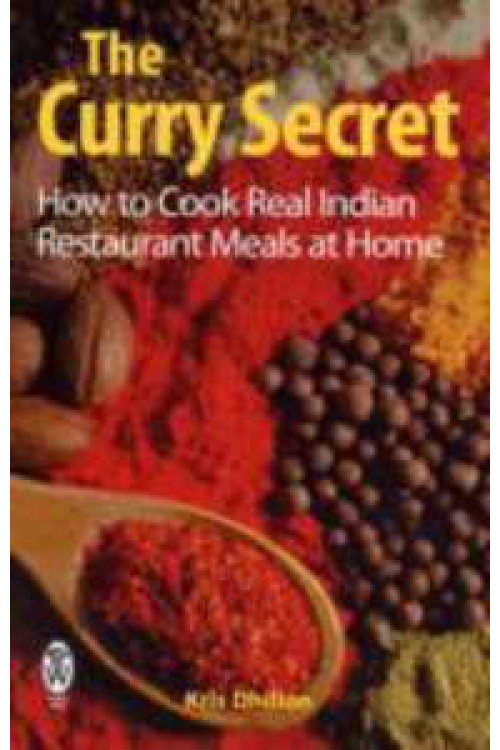 کتاب الکترونیکی The Curry Secret: Indian Restaurant Cookery At Home
