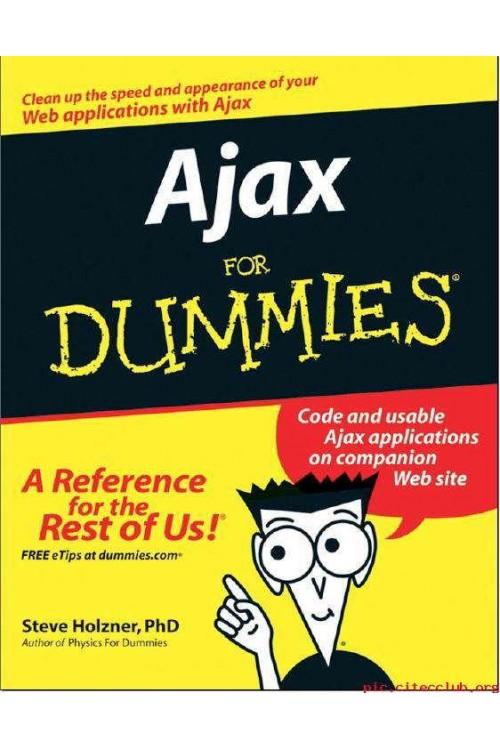 کتاب الکترونیکی Ajax For Dummies