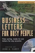 کتاب الکترونیکی Business Letters For Busy People