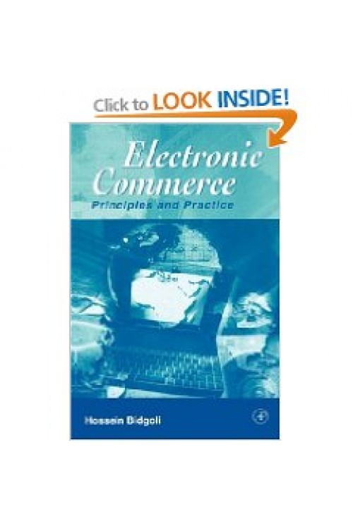 کتاب الکترونیکی Electronic Commerce Principles and Practice