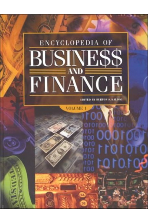کتاب الکترونیکی Encyclopedia Of Business and Finance