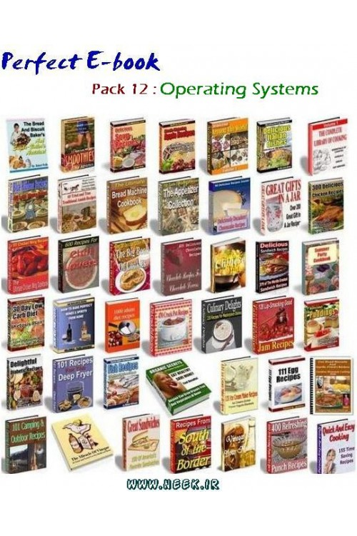 کتاب الکترونیکی Perfect E-book Pack 12 : Operating Systems