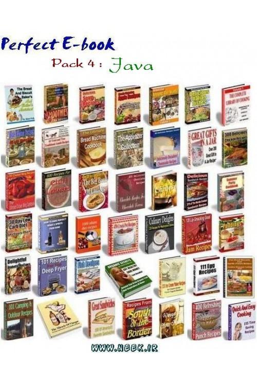 کتاب الکترونیکی Perfect E-book Pack 4 : Java