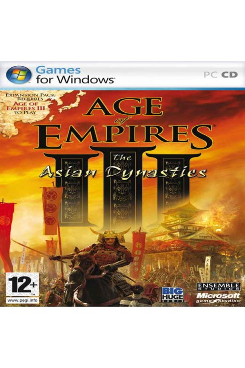 بازی Age Of Empires III: Asian Dynasties & All Expantions