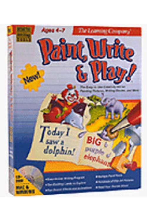 بازی Paint,Write & Play