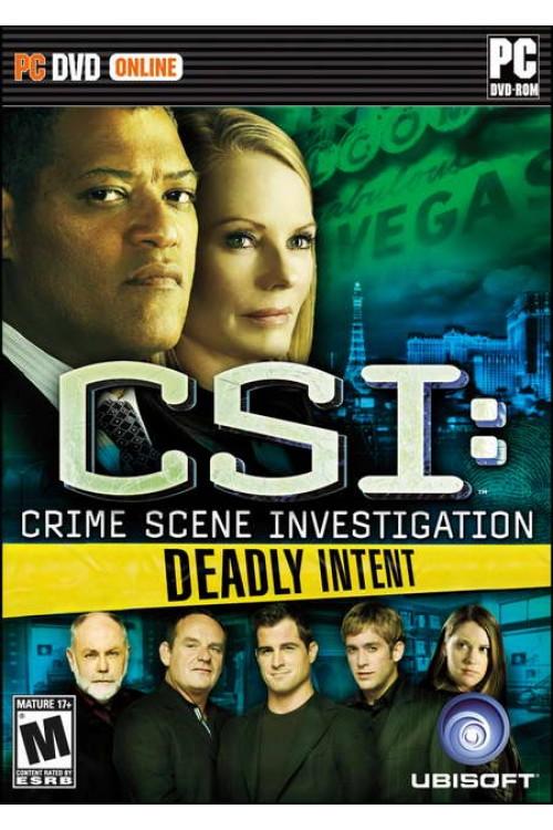 بازی CSI: Deadly Intent