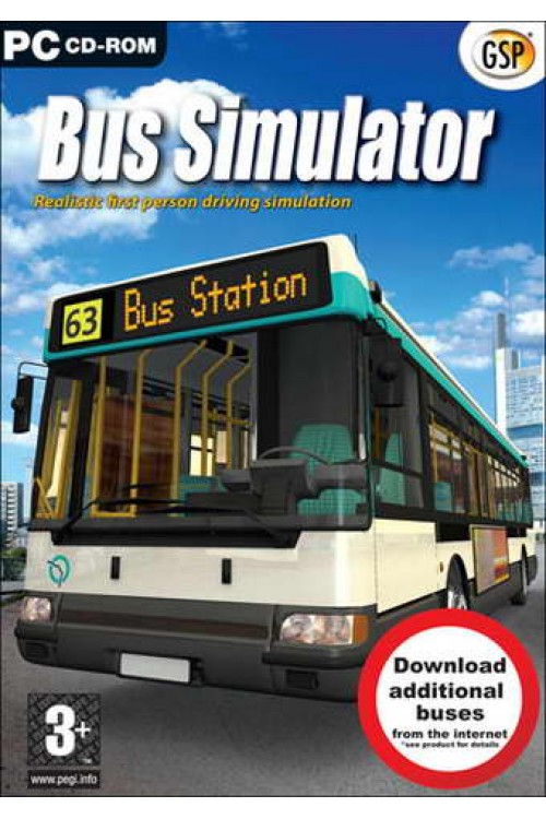 بازی Bus Simulator 2008