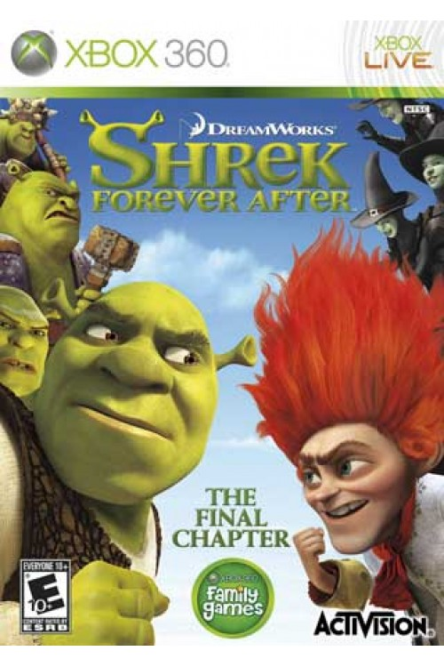 بازی Shrek Forever After