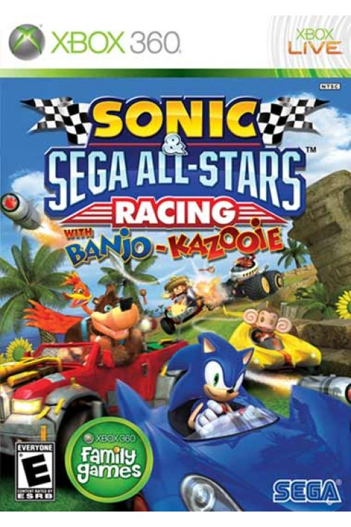 بازی Sonic All Star Racing
