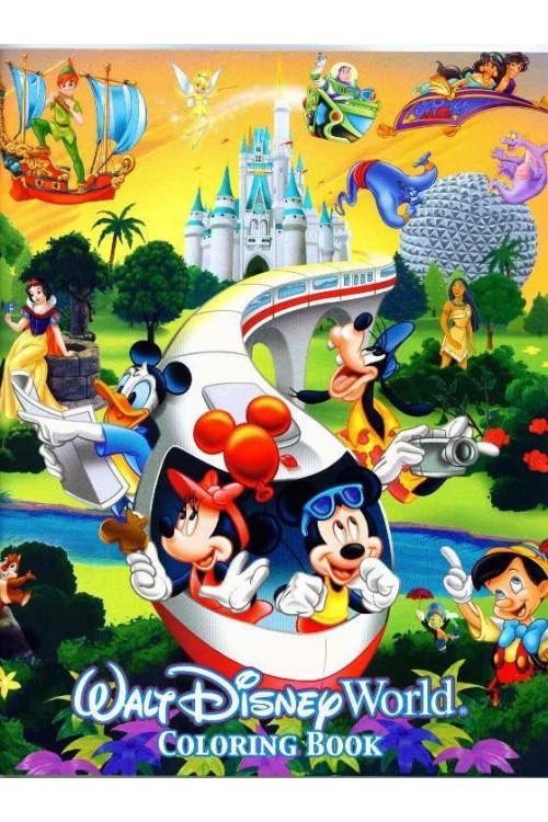 بازی Disney Coloring Book