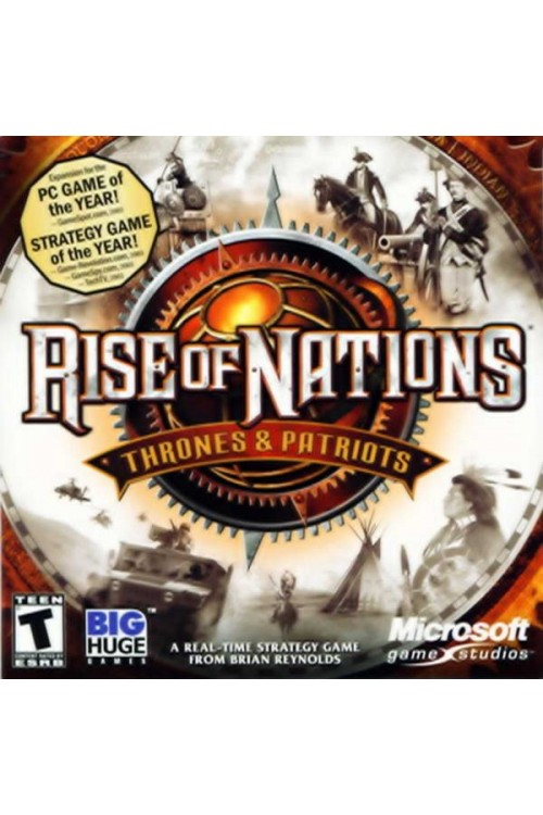بازی Rise Of Nations Thrones & Patriots